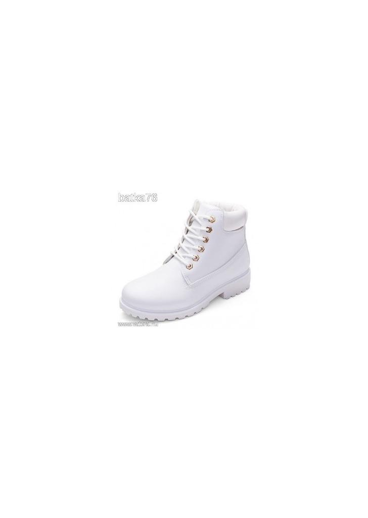 eladó fehér női bakancs e0fcce2f17