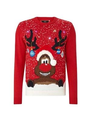 F F férfi karácsonyi pulóver 6d2cda33c2