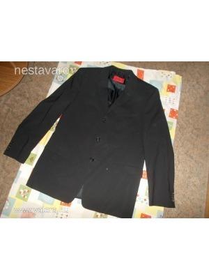 4b33c78bff Hugo BOSS luxus gyapjú fekete férfi öltöny - zakó + nadrág << lejárt 420646