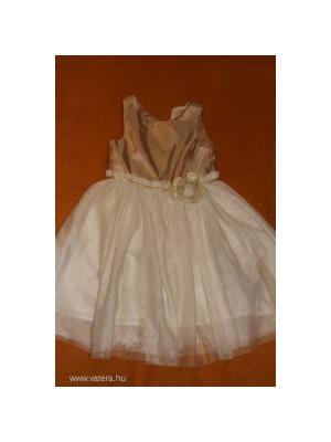 e4a0ff45ab H&M arany tüll alkalmi ruha 122 - Vatera, 2 890 Ft | #216887