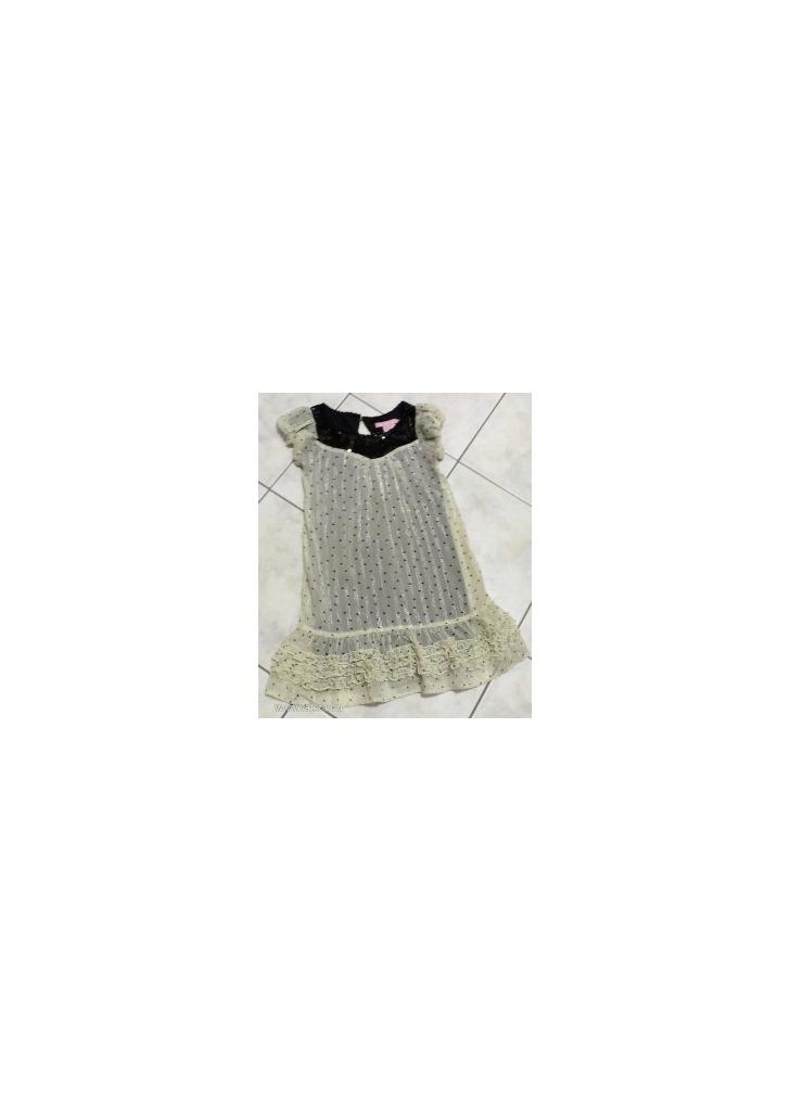 9e5218807b Flitteres, ezüst szálas gyönyörű alkalmi ruha 7 év - Vatera, 1 750 Ft