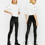 Bershka Vinyl leggings