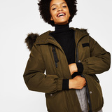 Bershka Ski parka with hood