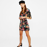 Bershka Short floral dress