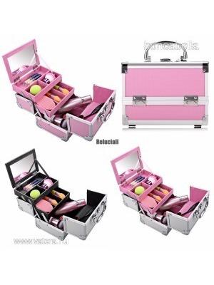 7674e3365d93 Kozmetikai táska Smink táska Neszesszer L20 x W15,5 x H15,5 cm Színválaszték