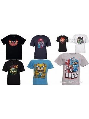 89dccf0458 Minecraft rövid ujjú gyerek pólók fiú 5-6-7-8-9-10 évesnek azonnal