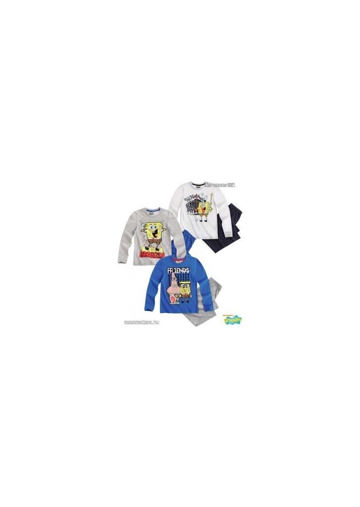 Spongyabob pizsama fehér felsővel (104 425549caa1