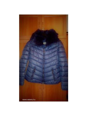 Warp Zone sötétkék rövid téli kabát (9)    lejárt 164384 f59a40733d