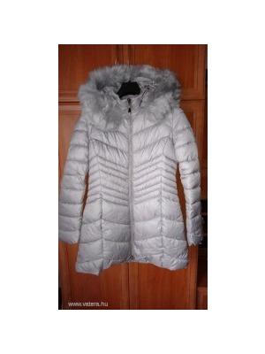Warp Zone szürke hosszú téli kabát (12)    lejárt 194149 20716bca44