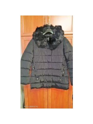 Warp Zone fekete hosszú téli kabát (6)    lejárt 542912 814e4ddde2