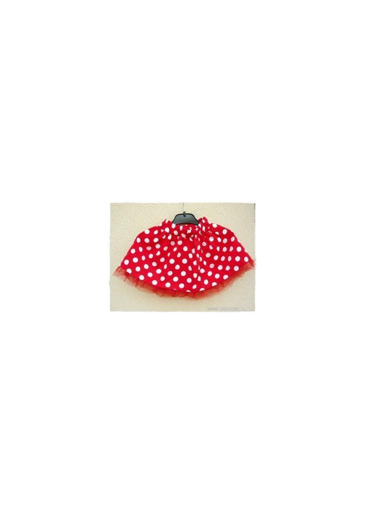 9ec5025185 Piros/fehér pöttyös katica- vagy Minnie Egér szoknya - Vatera, 251 Ft