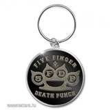 Five Finger Death Punch - Standard Keychain - Brass Knuckle . fém kulcstartó