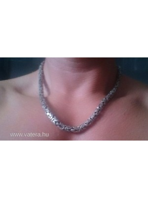 77790410d Eladó ezüst nyaklánc, ajándék ezüst gyűrűvel. - Vatera, 35 000 Ft