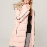Reserved Steppelt kapucnis kabát 1d14156aca