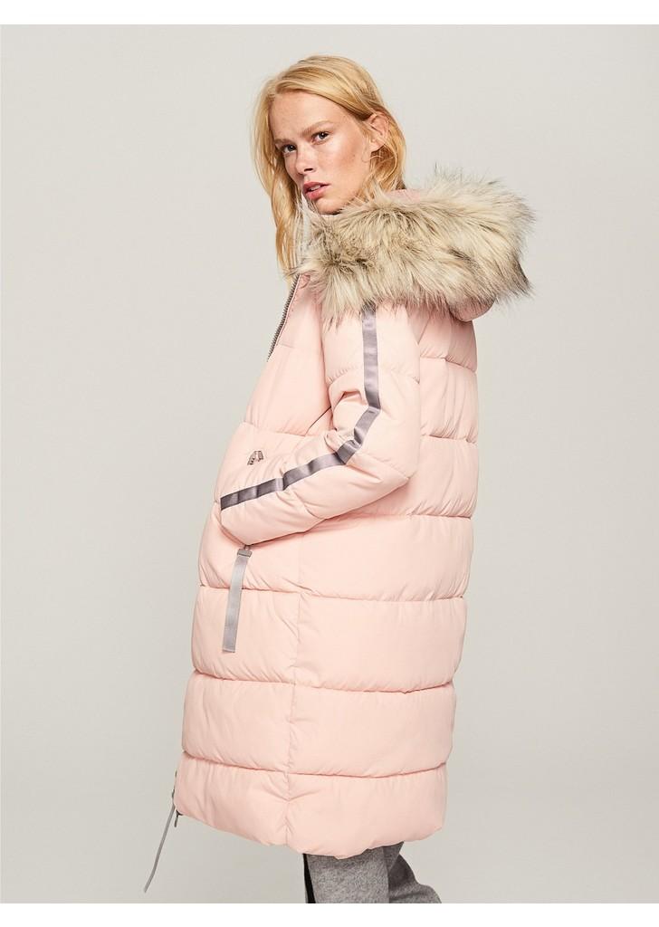 Reserved Steppelt kapucnis kabát ... 64df787d94