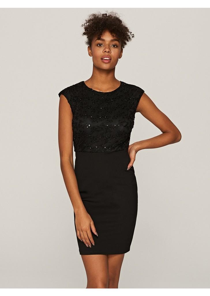 Reserved Flitteres fekete ruha ... 3dcbafde4d