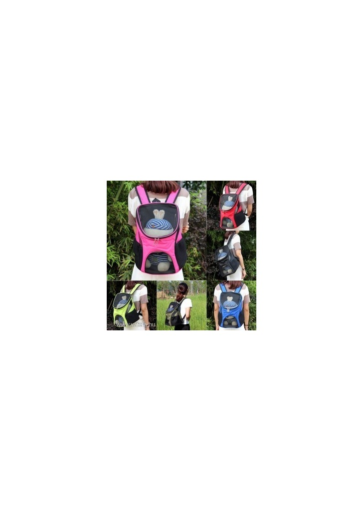 fca5a1b15d96 1x kutya macska kisállat hordozó hátizsák többszín - Vatera, 4 418 Ft