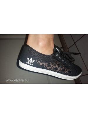 Adidas fekete csipkés cipő 39-s Új NMÁ    lejárt 508680 a38d9e3dca
