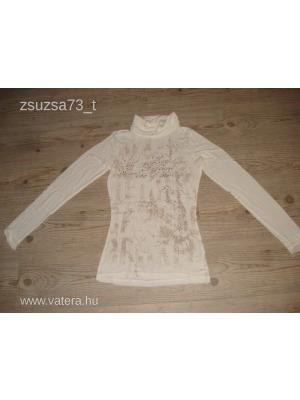 a5a06f978e Mayo chix szép női feliratos póló S/M-es 36/38-as - Vatera, 3 500 Ft