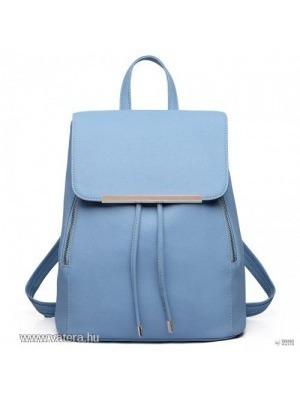 d798894d97d3 Miss Lulu London E1669 - Miss Lulu szintetikus bőr stílusos divat hátizsák  táska világos kék <