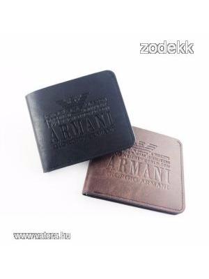 602201da05 Új Armani férfi pénztárca 2 színben - Vatera, 2 290 Ft | #165713
