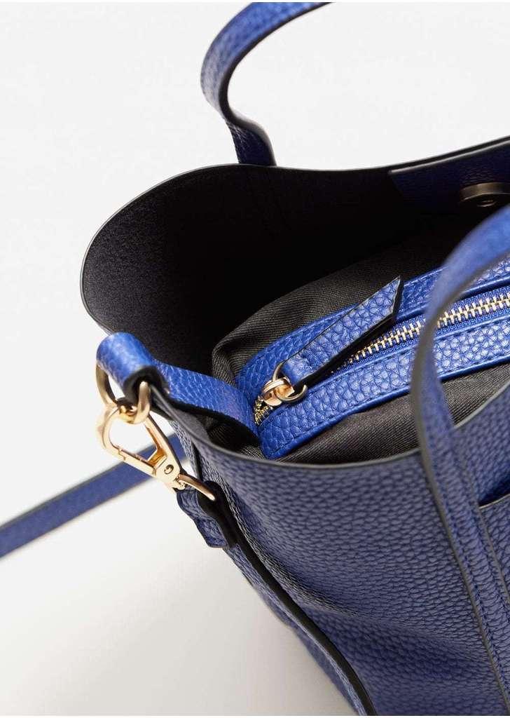 92a57554e53b Mango puhított bőr keresztpántos táska, 5 595 Ft | 2017