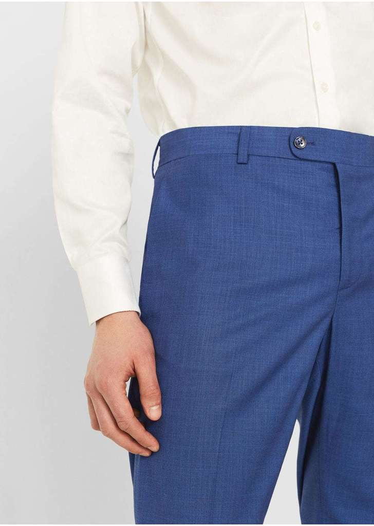 4c5fbde072 Mango slim-fit strukturált öltöny nadrág, 13 995 Ft | 2017