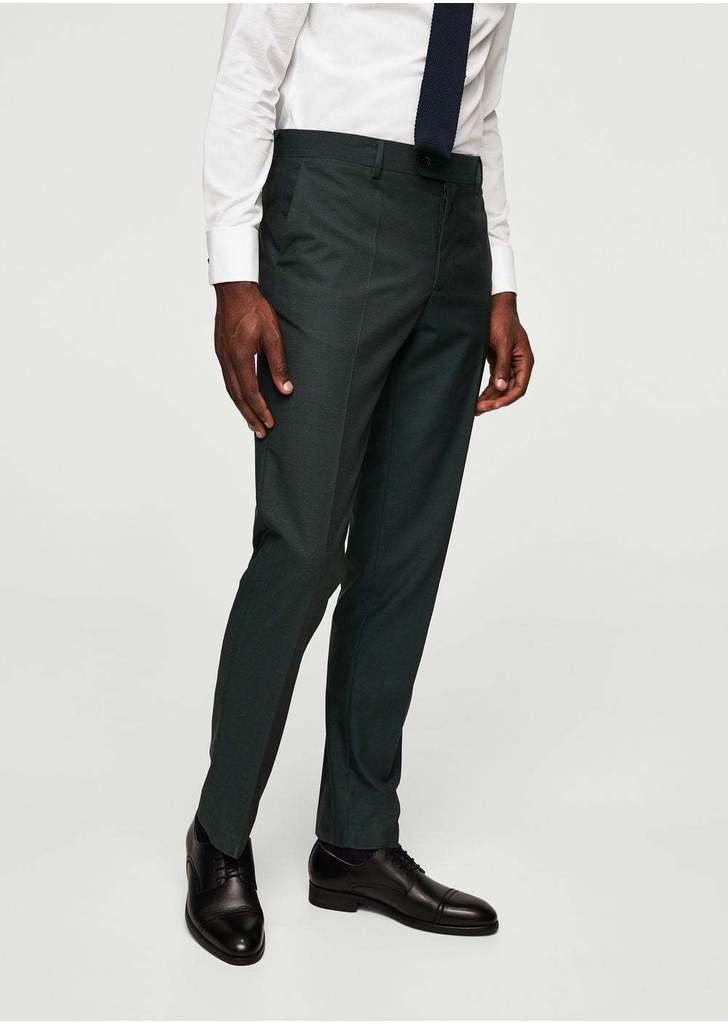8fa2deb0cc Mango slim-fit strukturált öltöny nadrág, 13 995 Ft | 2017 ősz-tél