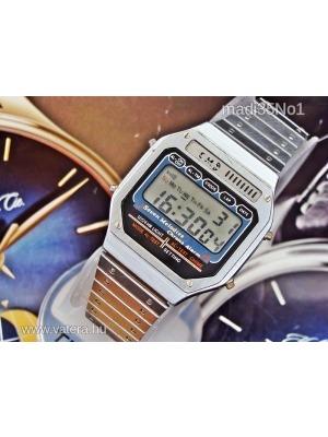 Igazi ritkaság!Retro 7 zenés Kessel Chrono LCD óra 1980-évek 1Ft - ae0710a97f