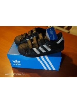 94d2db236c ADIDAS SUPERSTAR cipő 34-es tépőzáras dobozában eladó << lejárt 661813