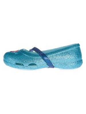Crocs Crocs Lina Frozen™ Flat Gyerek balerina cipő Kék    lejárt 972586 021341207d