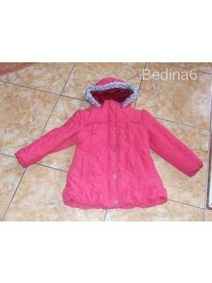 3cd1bd0309 M&S szőrös kapucnis steppelt meleg télikabát/dzseki 110-116-os méretben (5