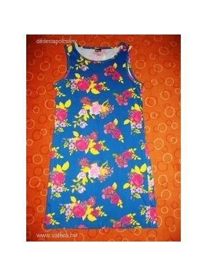 d3336cb4bb álomszép kék apróvirágos romantikus nyári ruha - Vatera, 800 Ft