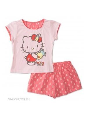 ÚJ C A Hello Kitty 110 116-os pizsama b8c1fbfa60