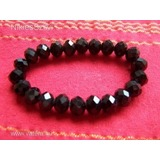 4cda8d943781 Csillogó kristály karkötő fekete << lejárt 842552