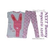 NEXT meseszép Bunny-nyuszis szett (póló és leggings) 110-es méretben ( 1f754121de