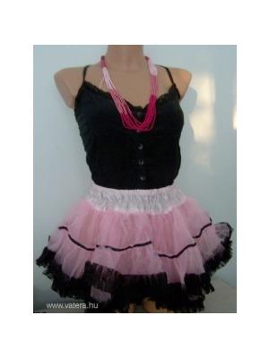 449f8a3afb Tütü tüll szoknya balett szoknya extra fodros rózsaszín-fekete KÉSZLETEN <<  lejárt 374108