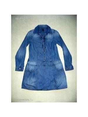 d70786d345 Benetton kislány őszi farmerruha 8-10 éves/134-140-s méretben <