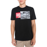Diesel Just T-shirt Fekete << lejárt 231392