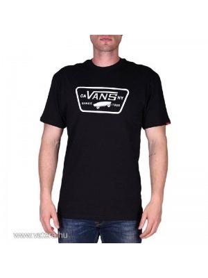 2ee152a1f7 VANS férfi rövid ujjú t shirt, fekete full patch, V00QN8Y28 << lejárt 446468