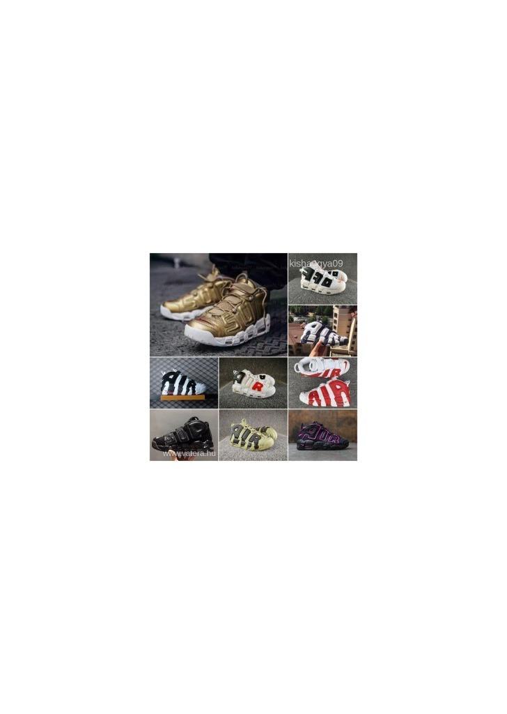 Láttad mind az 36-ot  Nike Air More Uptempo férfi női kosaras cipő fd91f2e7df