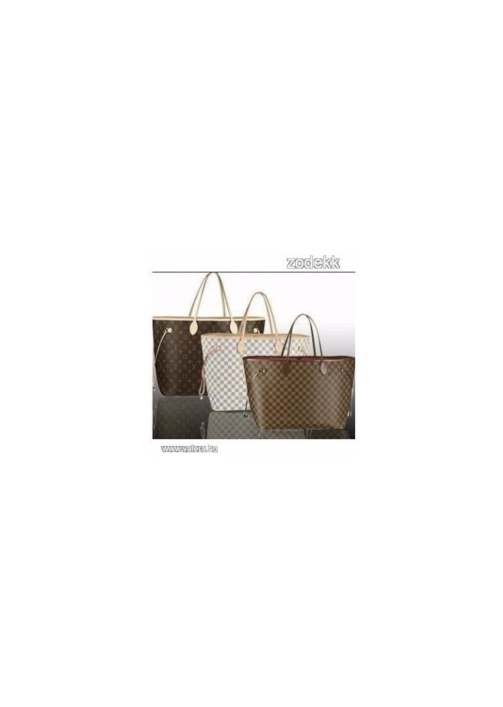 Új LV Louis Vuitton táska 3 féle - Vatera e65e1b1109