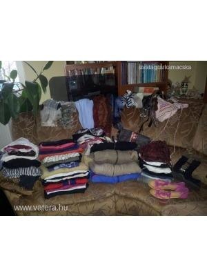 7e2db05bc4 Szekrényürítés! Óriási, 80 darabos márkás női ruhacsomag S-M- H&M,
