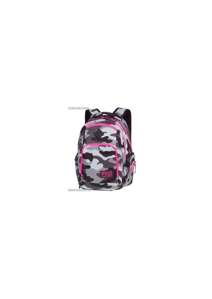 Cool Pack Break Terepszínű iskolai hátizsák - 29 literes - Camo Pink 3a7c07768c