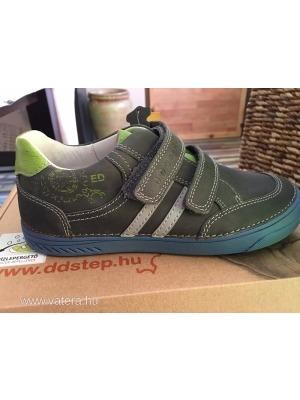 25b532e2d7 LEÁRAZÁS!!! 2017-s modell Új, D.D.Step bőr cipő fiú 33, 34, 36. -