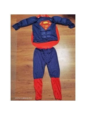 3517ed5046 Új izmosított Superman jelmez több méretben Szupermen Supermen Acélember  Super man Szuper men << lejárt