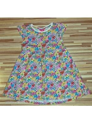 356f5e15b9 Next sp virágos pamut ruha 110 cm 4-5 év - Vatera, 516 Ft | #250192