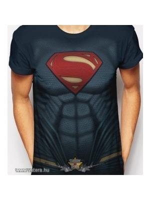 BATMAN V SUPERMAN - SUPERMAN COSTUME. import filmes póló    lejárt 705093 abc9d88373