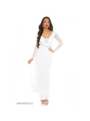 Estélyi ruha hosszú ujjú e9dc81fe97