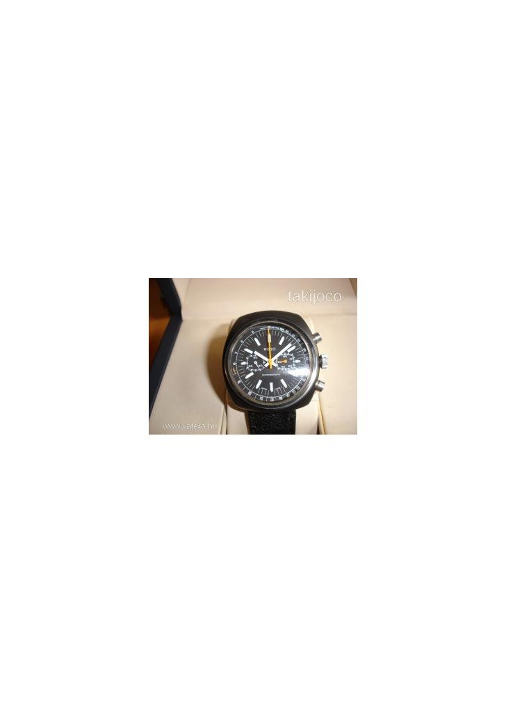 REGO fekete egyedi mechanikus chronograph karóra - Vatera 14b4bfad53